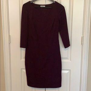 London Times purple dress
